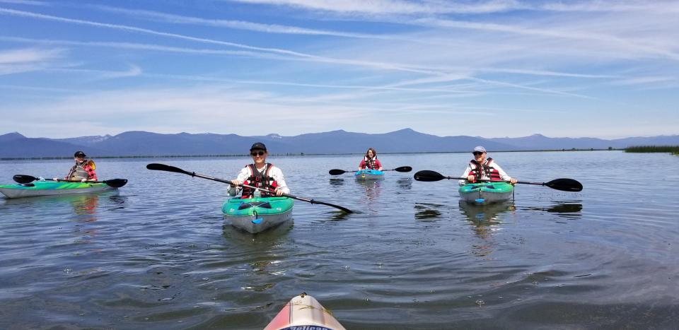 Adventure Oregon Agency Lake