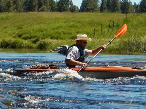 Adventure Oregon Outfitter Guide training program.